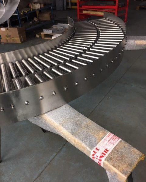 courbe acier Inox 304L ou 316L